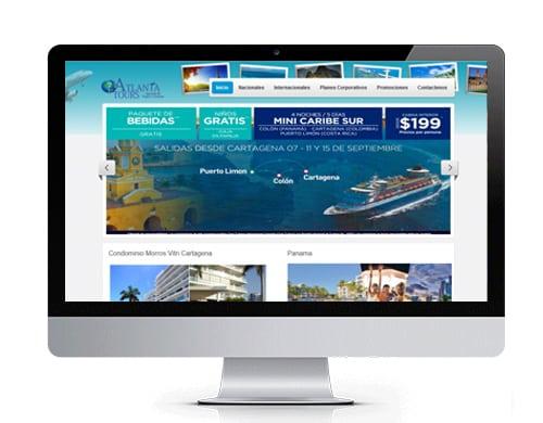diseño-pagina-web-atlantatours-portafolio Portafolio diseño de paginas web