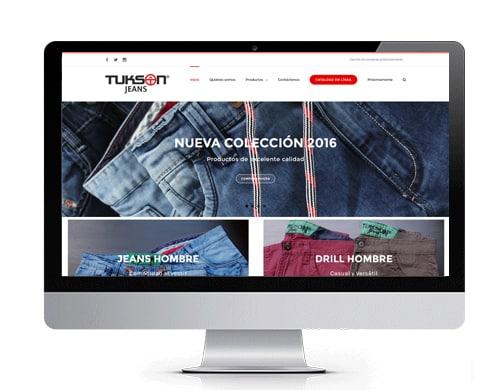 diseño-pagina-web-tukson-jeans-portafolio Diseño de páginas web en bogotá