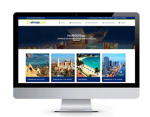 diseno-pagina-web-allviaje-portafolio Portafolio diseño de paginas web