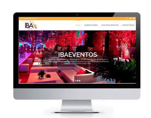 diseno-pagina-web-ibaeventos2-portafolio Portafolio diseño de paginas web