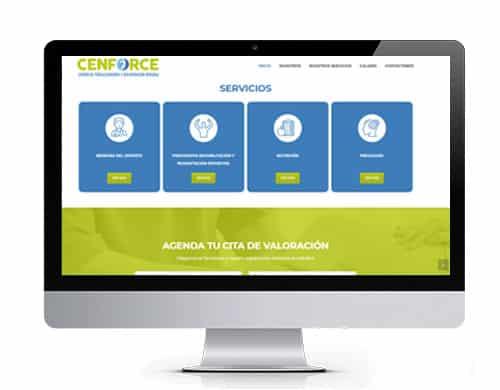 diseño-pagina-web-cenforce-portafolio Diseño de páginas web en bogotá