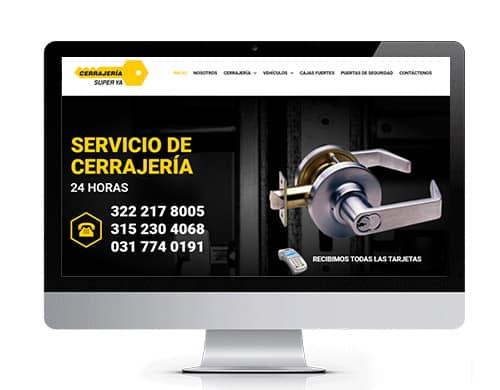 diseño-pagina-web-cerrajeria-super-portafolio Diseño de páginas web en bogotá